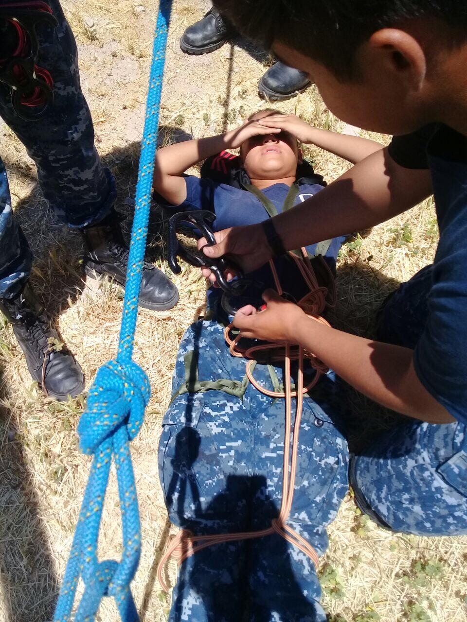 Participan 800 niños en jornada de la Policía Juvenil de Tijuana .SSPM