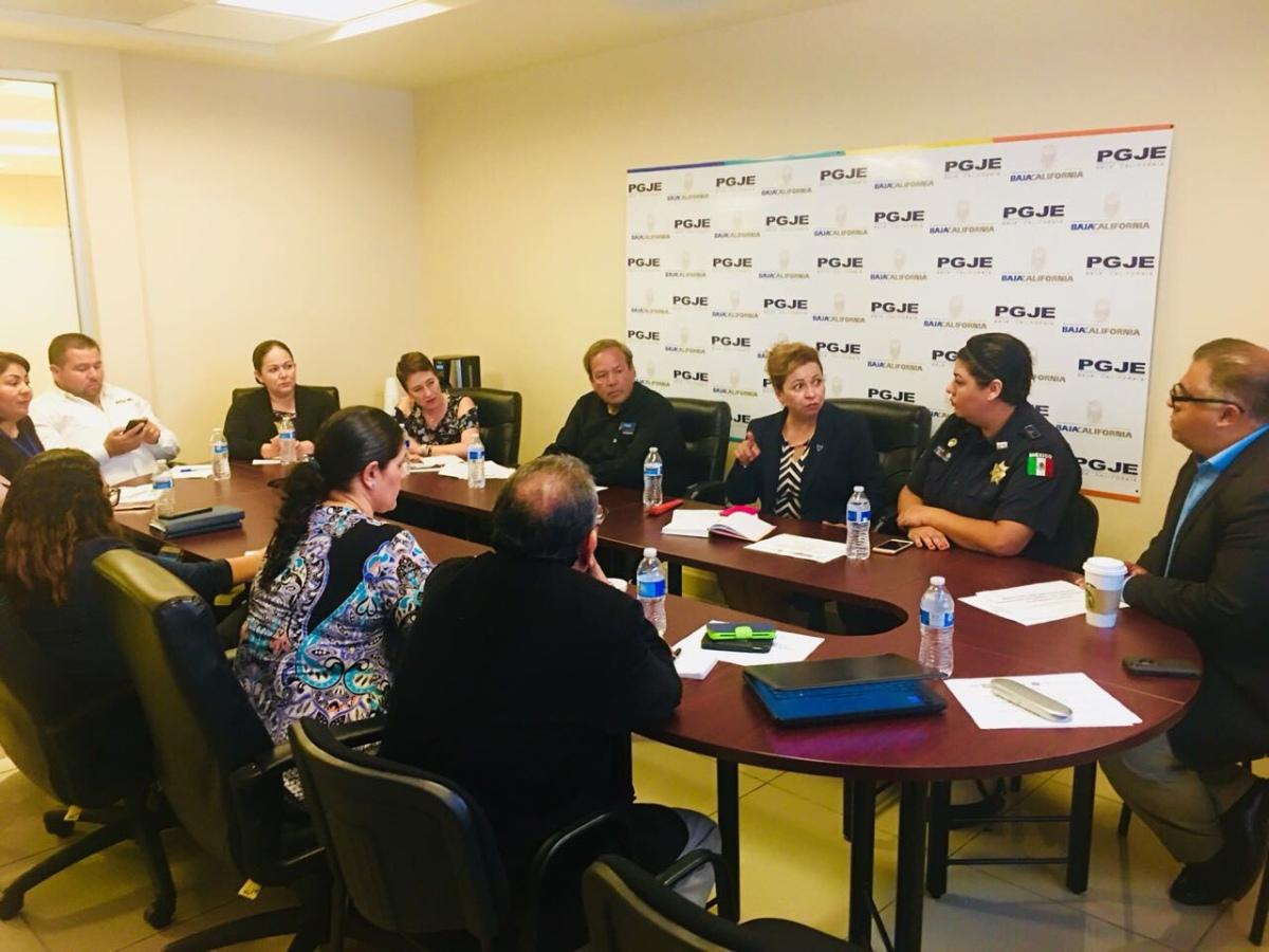 Evalúan indicadores de prevención del delito y problemáticas principales:PGJEBC