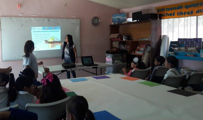 Previenen sobre el abuso y violencia escolar en primarias SSPMTJ