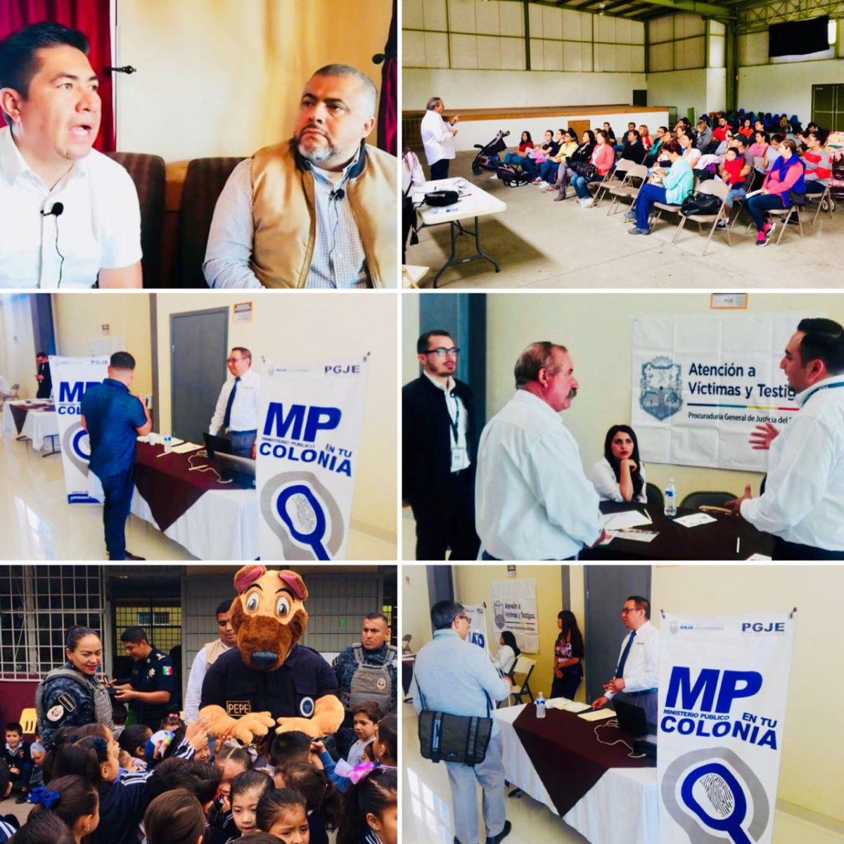 Más de 28 mil ciudadanos han sido atendidos a través del programa Ministerio Publico en Tu Colonia.PGJEBC