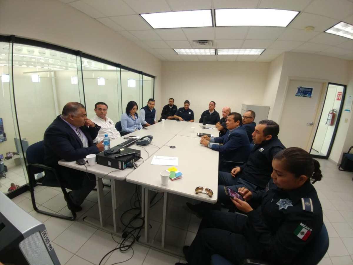 Instalan Mesa Interdisciplinaria para la Prevención del Delito y Conductas de Riesgo en Playas de Rosarito.PGJEBC