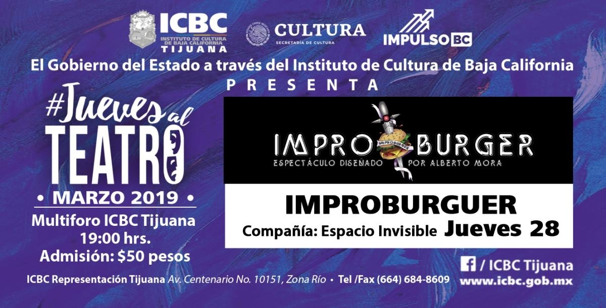 """A DIVERTIRSE CON """"IMPROBURGER""""  EN EL MULTIFORO DEL ICBCTIJUANA"""